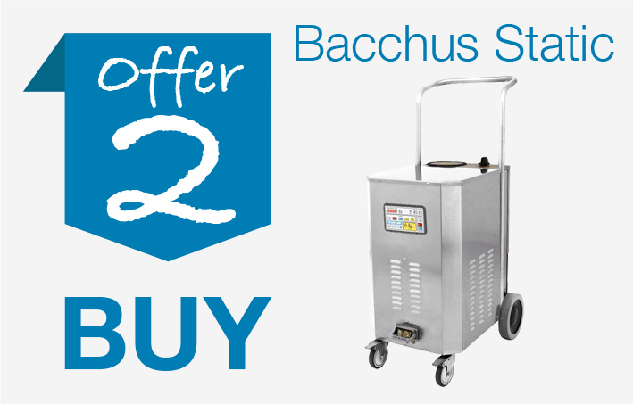 Offer 2 - Buy Bacchus Static machine