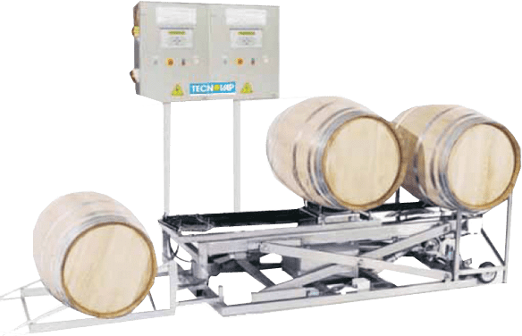 Auto Wine Barrel Washing System for large-scale winery operations