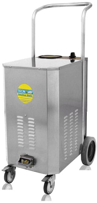 Bacchus Static Steam Cleaning Unit, for wine barrels and bottling lines