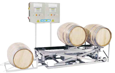 Automatic Wine Barrel Cleaning System