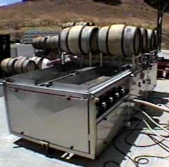Automatic Wine Barrel Cleaning System 2