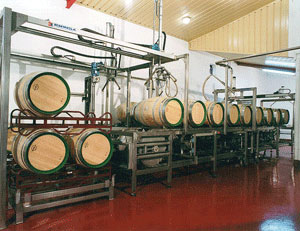 Automatic Wine Barrel Cleaning System 4