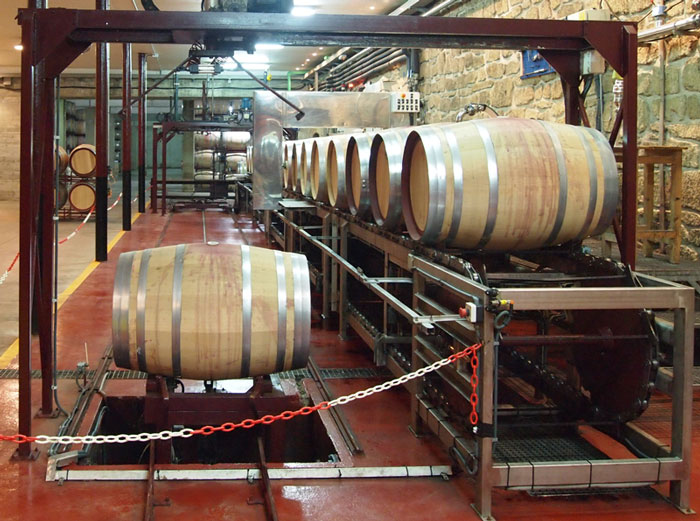 Automatic Wine Barrel Cleaning System 5