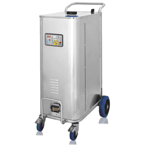 the heavy duty, industrial grade boiler and high pressure steam vapour output of the bacchus industrial make it a fantastic unit for disinfecting winery work areas.