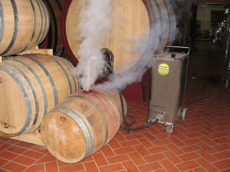 brettanomyces are quickly and effectively removed from oak wine barrels, extending the life of the barrel by years- giving the winery a higher return on investment- and higher quality wine production