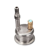 the garolla connector is a PED approved connection, with a mechanical safety valve, used for connecting to bottling lines and tanks within wineries